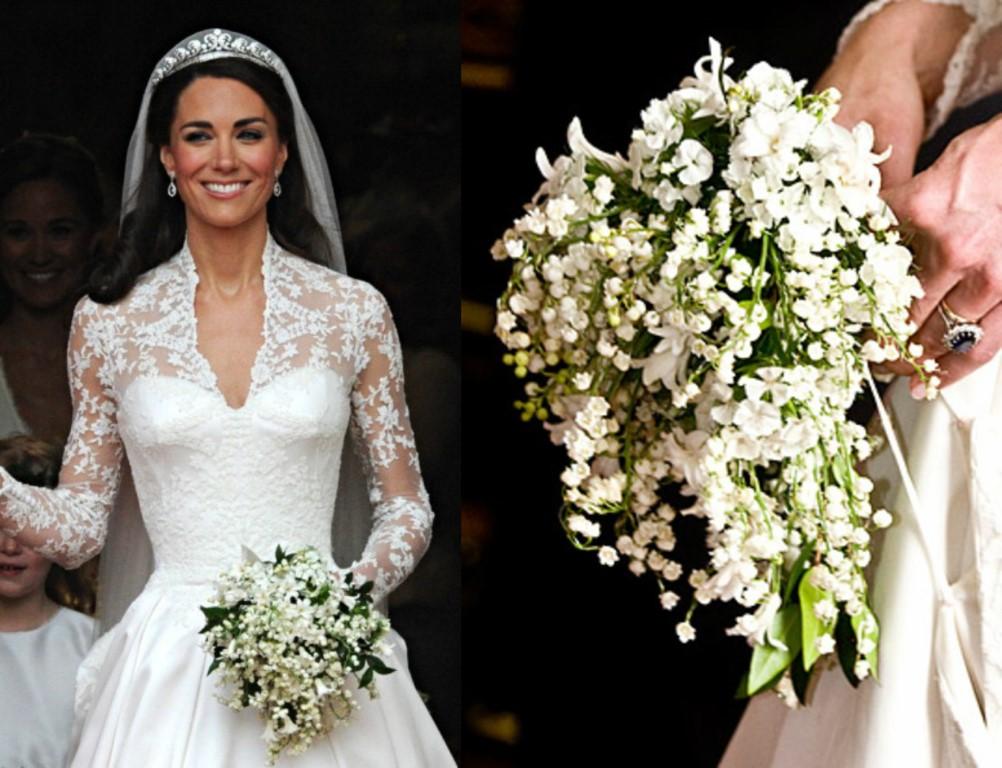 Kate Middleton's Wedding Bouquet