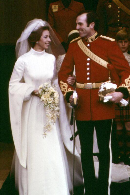 Princess Anne's Wedding Bouquet