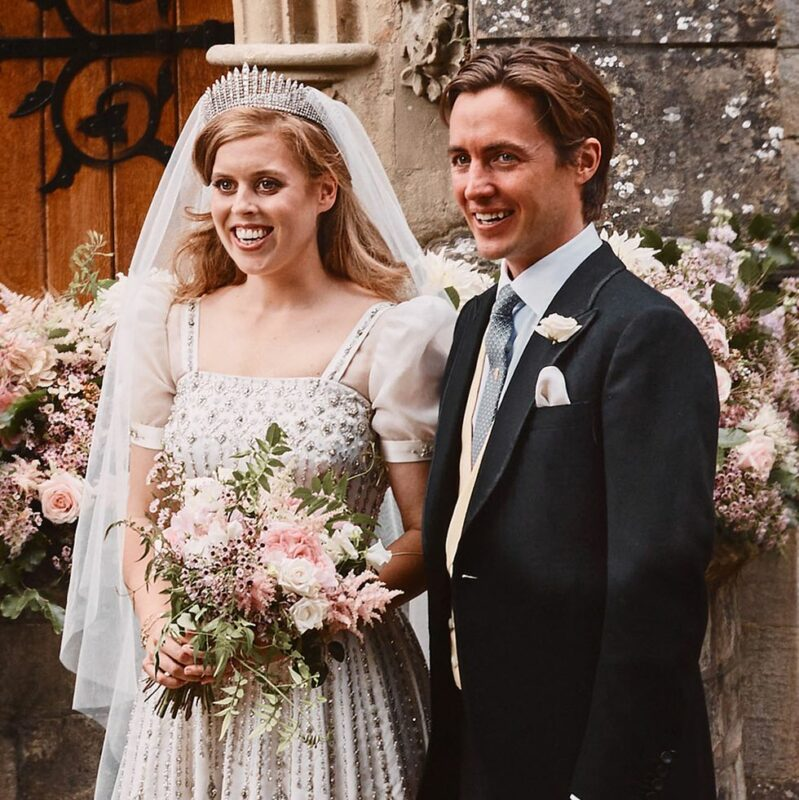 Princess Beatrice's Wedding Bouquet
