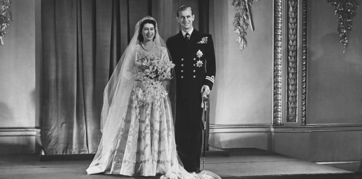 Royal Wedding Bouquets, Queen Elizabeth's Wedding Bouquet