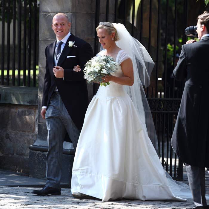 zara tindall wedding bouquet
