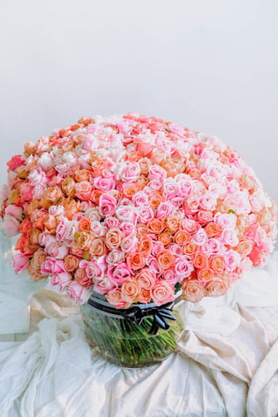 500 roses bouquet by Blooming Haus