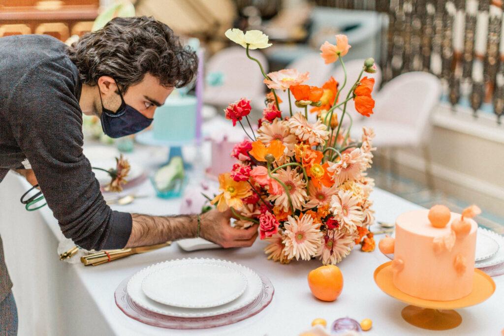 Colourful Flower Arrangements