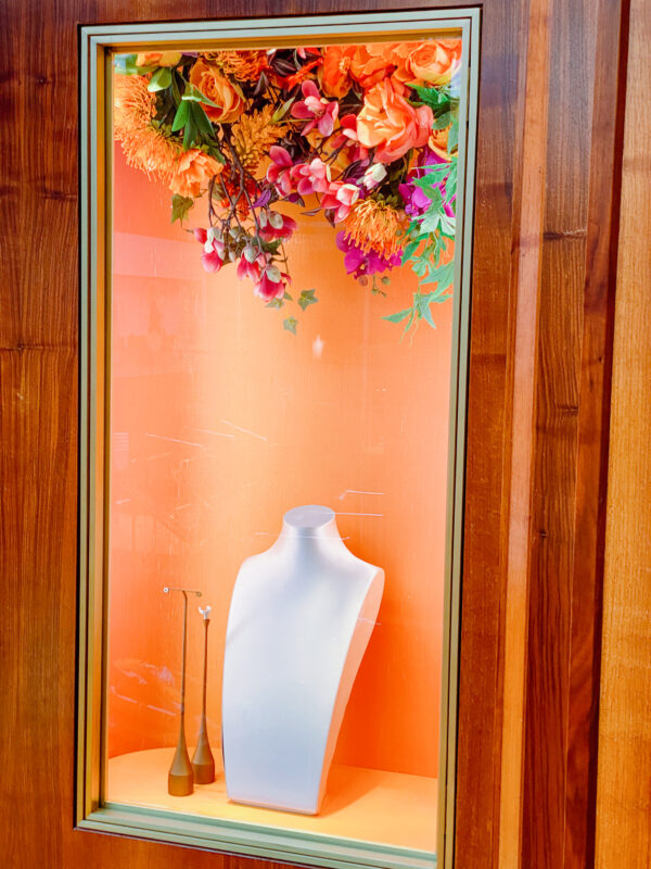 Contract Flowers, hanging florals