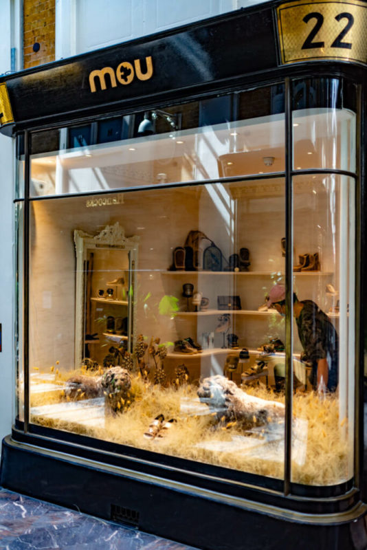 floral design in retail hospitality dried grass installation burlington avenue flowers
