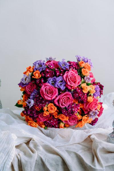 Fuchsia Saffron Bouquet